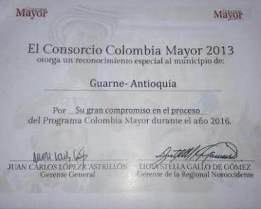 Colombia Mayor Guarne