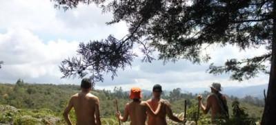 caminata nudista en Guarne