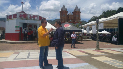 Diputado Carlos Ríos entrevistado por el colega Héctor Gómez de Orientese.co
