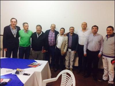 Reunión alcaldes Masora