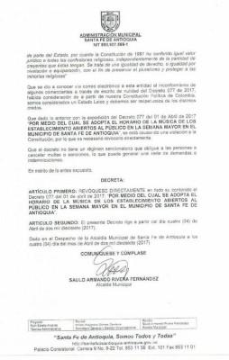 decreto Santa Fe 1