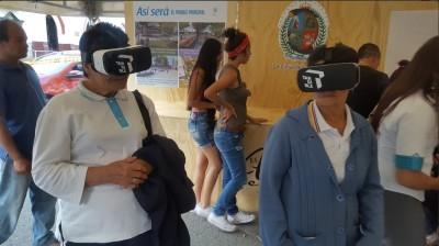 Realidad virtual parque La Ceja
