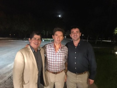 Fabio Ríos y Luis Pérez en Miami