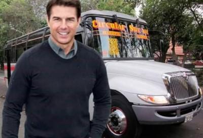 Tom Cruise en Medellín